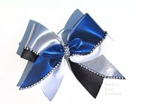 Four Colored Jewel Cheer Bow