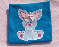 Easter Bunny Embroidered Appliqued Shirt