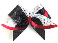The Bailey Cheerleading Sparkle Bow