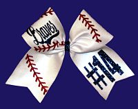 Custom Baseball Bow