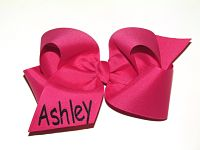 Personalized Huge Boutique Hair Bow