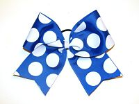 BIG Polka Dot Cheerleading Hair Bow