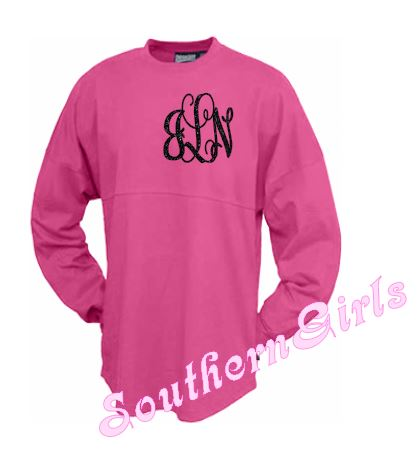 b9d5ac8d58552 Billboard Custom Spirit Jersey Shirt for Youth and Adults with glitter  monogrammed