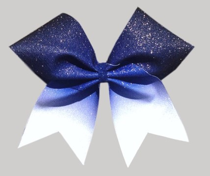 Ombre Royal Blue Sublimation Bow
