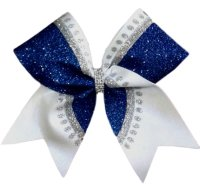 Bursting Glitter Cheer Bow