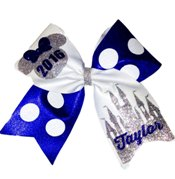 Disney Custom Polka Dot Cheer Bows