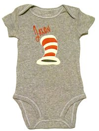 Dr. Seuss Personalized Onesie