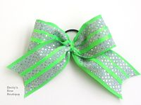 Triple Sparkle Custom Layered Cheer Bow