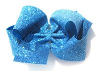 Glitter Huge Boutique Hair Bow