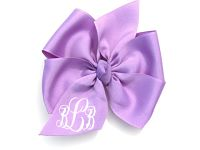 Huge Pinwheel Personalized Monogrammed Grosgrain Hair Bow