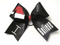 """I Believe"" Holiday Cheer Bow"