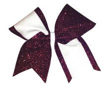 Custom Elegant Two Colored Cheer Bow