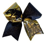 Custom Panther Cheer Bow