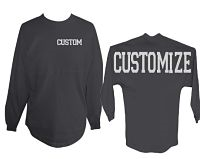 **New Custom Original Spirit Pom Pom Jersey Glitter Shirt