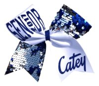 Reversible Sequin Senior Cheer Bow